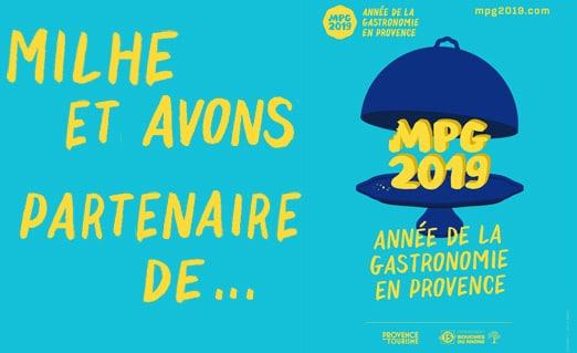Milhe et Avons partenaire de Marseille Provence Gastronomie
