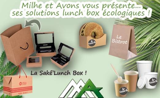 Solutions lunch box écologiques