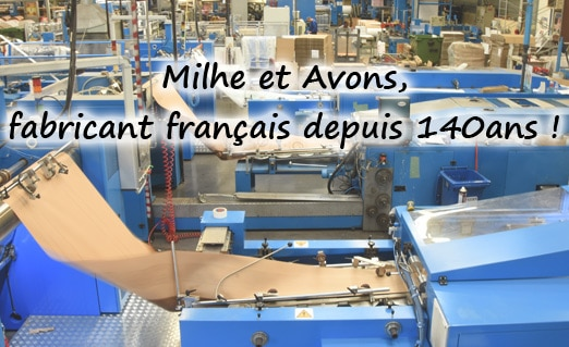 Milhe et Avons, fabricant français d'emballages écoresponsables !