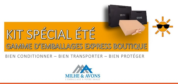 Gamme d'emballages Express Boutique !